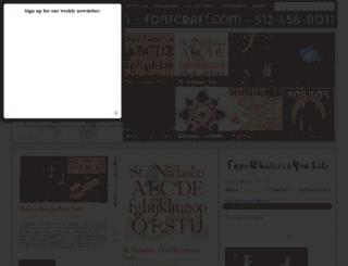 fontcraft.com screenshot