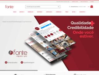 fontecalcados.com.br screenshot
