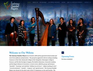 fontenaychamberplayers.org screenshot
