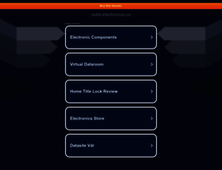 fonts.radio-electronics.co screenshot