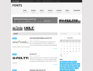 fonts5.com screenshot