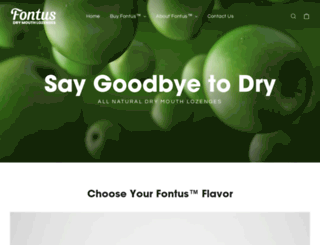 fontussciences.com screenshot