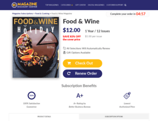 food-and-wine.com-sub.biz screenshot