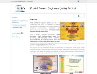 food-biotech.industrialregister.in screenshot