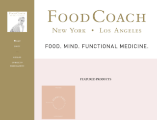food-coach-nyc.myshopify.com screenshot