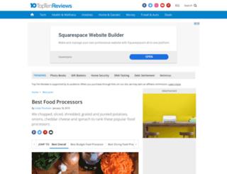 food-processors-review.toptenreviews.com screenshot