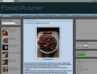 food-pusher.com screenshot