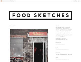 food-sketches.blogspot.com screenshot