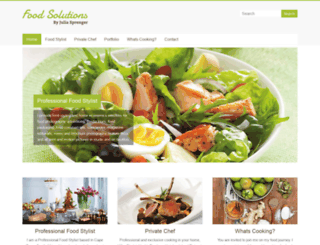 food-solutions.co.za screenshot