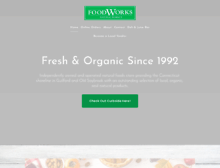 food-works.org screenshot