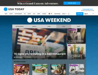 food.usaweekend.com screenshot