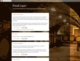 food24x7.blogspot.com screenshot