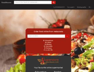 food4sure.com screenshot