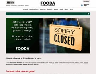 fooda.ro screenshot
