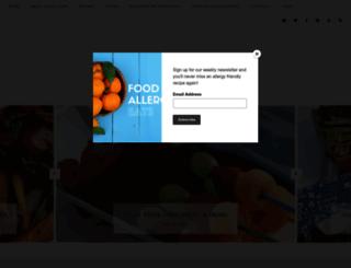 foodallergyeats.com screenshot
