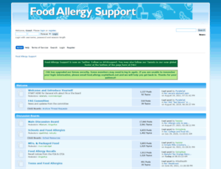 foodallergysupport.com screenshot
