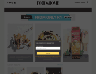 foodandhome.co.za screenshot