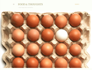 foodandthoughts.blogspot.com screenshot