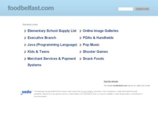 foodbelfast.com screenshot
