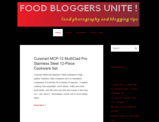 foodbloggersunite.com screenshot