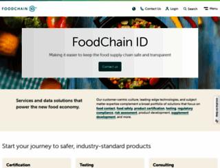 foodchainid.com screenshot