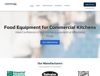 foodequipment.com screenshot