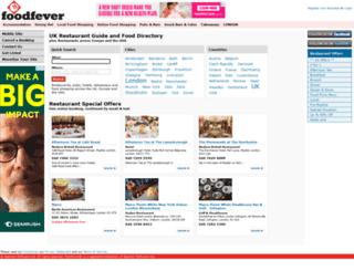 foodfever.co.uk screenshot