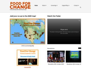 foodforchange.coop screenshot