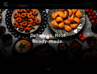 foodforfingers.com.au screenshot