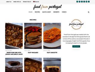 foodfromportugal.com screenshot