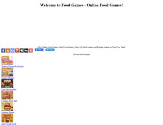 foodgamesonline.net screenshot