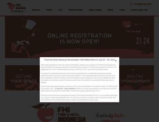 foodhotelindonesia.com screenshot
