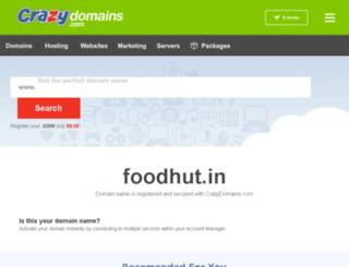 foodhut.in screenshot