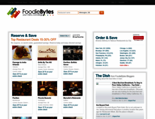 foodiebytes.com screenshot
