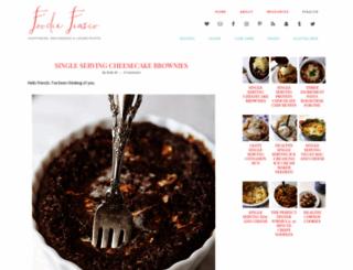 foodiefiasco.com screenshot