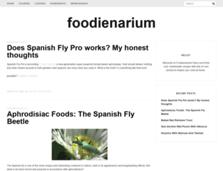 foodienarium.com screenshot