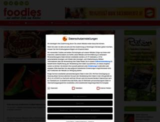 foodies-magazin.de screenshot