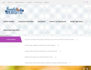 foodiewebsite.com screenshot