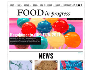 foodinprogress.com screenshot