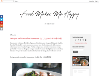 foodmakesmehappy.blogspot.com screenshot