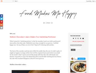 foodmakesmehappy.com screenshot