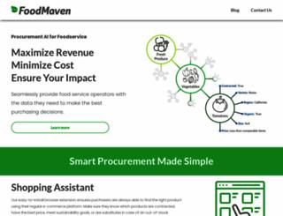 foodmaven.com screenshot
