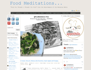 foodmeditation.net screenshot
