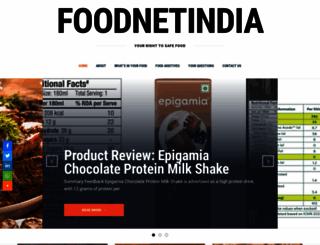 foodnetindia.in screenshot