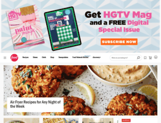 foodnetwork.com screenshot