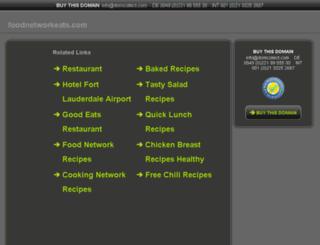 foodnetworkeats.com screenshot