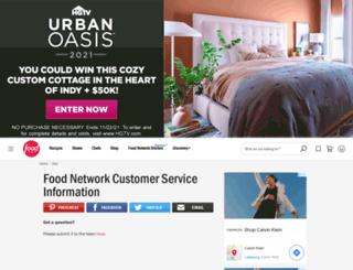 foodnetworkstore.com screenshot