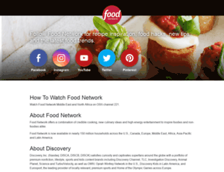 foodnetworktv.com screenshot