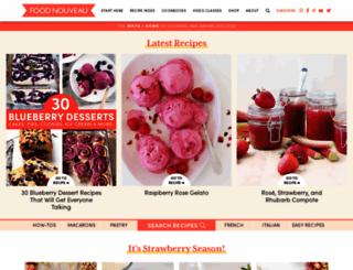 foodnouveau.com screenshot
