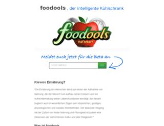 foodools.de screenshot